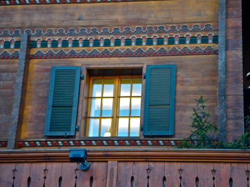 wooden chalet