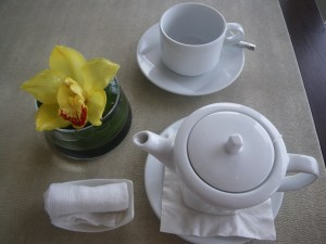 Tea at Marina Bay Sands Hotel