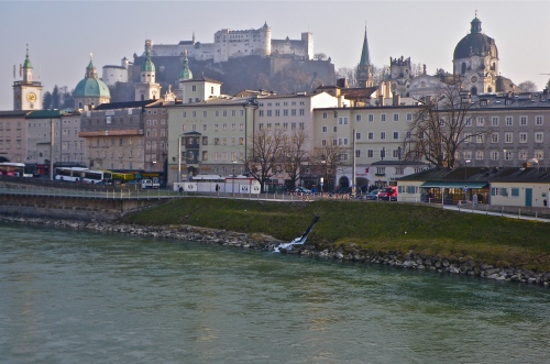 Salzburg and castle