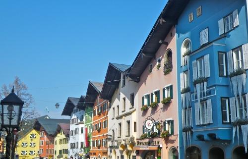 Kitzbuhel town