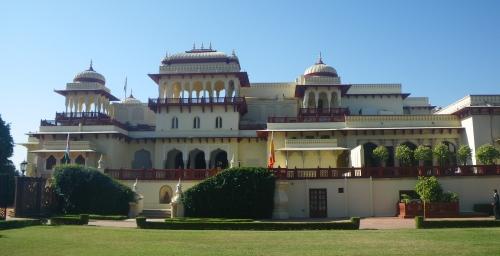 Rambagh Hotel, Jaipur