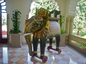 Prince's toy elephant