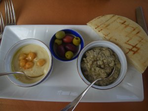 Middle-Eastern lunch