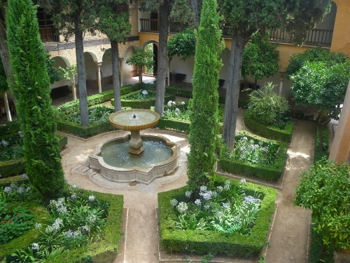 Gardens in the Nazrid Palace