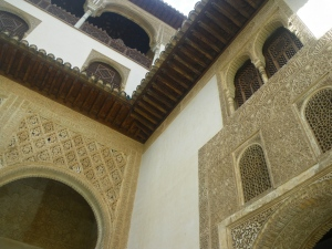Inner courtyard of the Nazrid palace