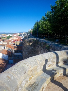 Astorga Roman city walls