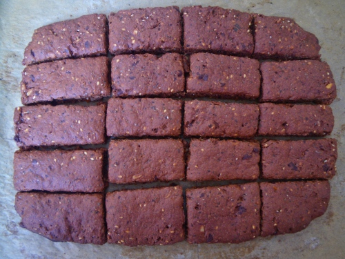 Chocolate wholemeal rusks