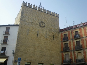 A 1000 yr old Islamic tower in Baeza