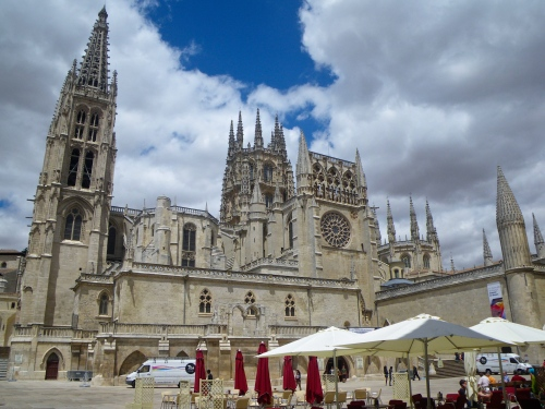 Burgos Cathedral Square