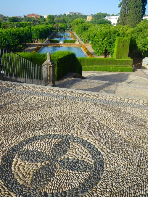 Alcazar gardens in Córdoba