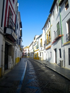 Narrow streets in Córdoba