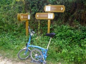 Navarra Green cycle way
