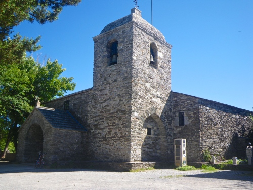 Church in O Cebreiro