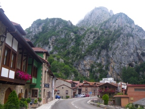 Driving in mountainous Spain