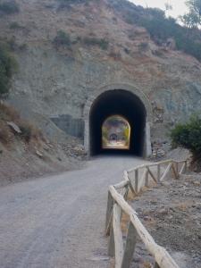 Cycle path near Gaucín