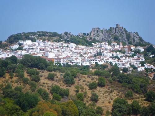 Gaucín village and its castle ruins