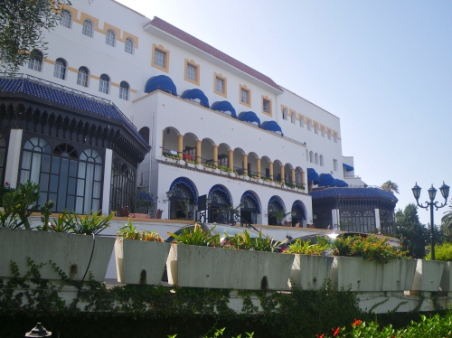 Our hotel in Tangier