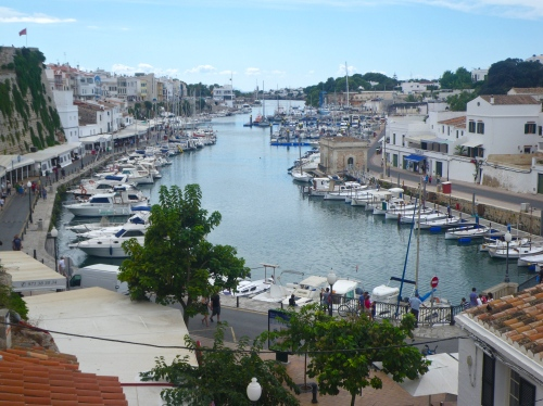 Ciutadella's old harbour