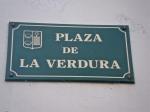 Burgos Plaza de la Verdura