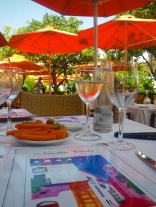 Lunch on Plaza de los Naranjos