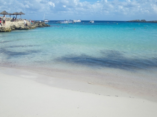 Stunning secluded beaches on Menorca
