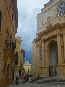 Neat buildings in Ciutadella