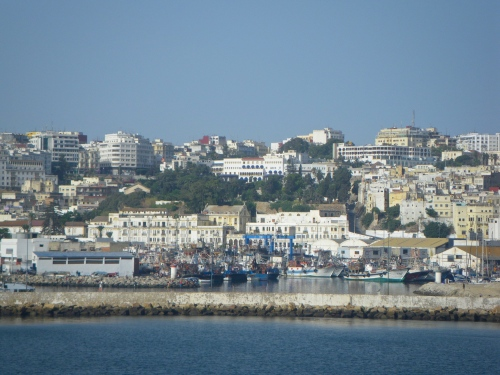Arriving in Tangiers