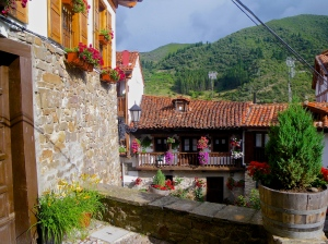 Potes- medieval houses