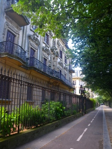 Cycle ways in San Sebastian