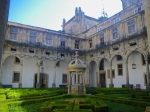 Courtyard of our Parador Hotel