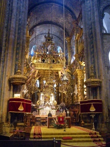 Mass in Santiago Cathedral