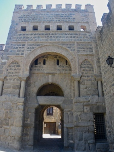 Moorish gate Puerta del Sol