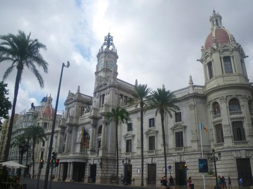 Beautiful buildings in Valencia
