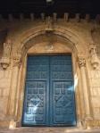 Santiago- on old door