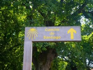 Camino road sign
